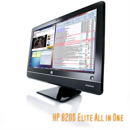 Máy tính Desknote HP Elite 8200 Core i5-2400S, Ram 4Gb, 250Gb, 23inch LED HD