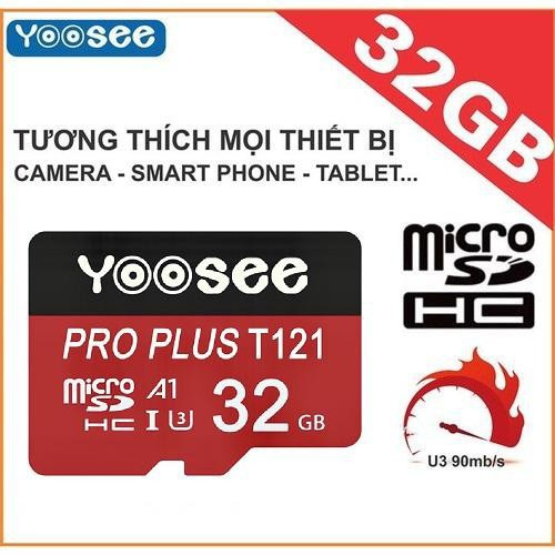 Thẻ Nhớ 32GB Yoosee