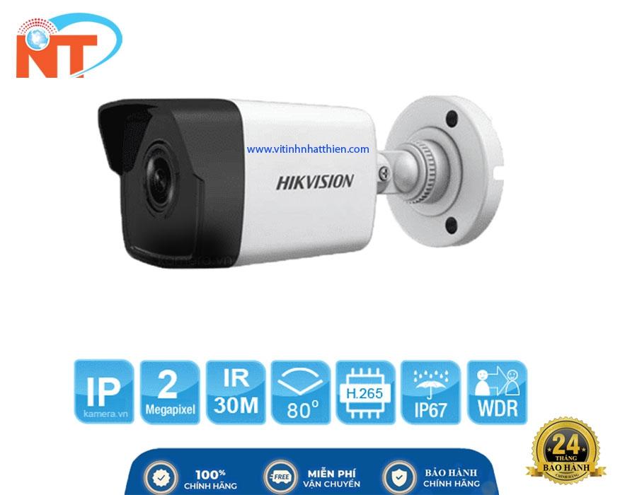 Camera IP HIKVISION DS-2CD1023G0E-I - 2.0 Megapixe, hỗ trợ  PoE