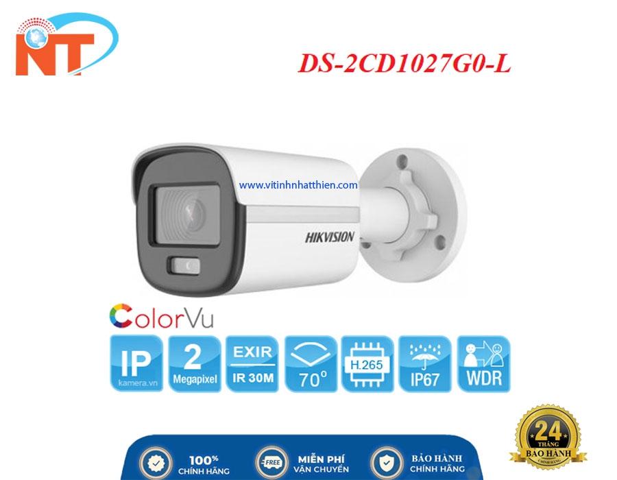 Camera IP COLORVU HIKVISION DS-2CD1027G0-L  Lite 2.0 Megapixel