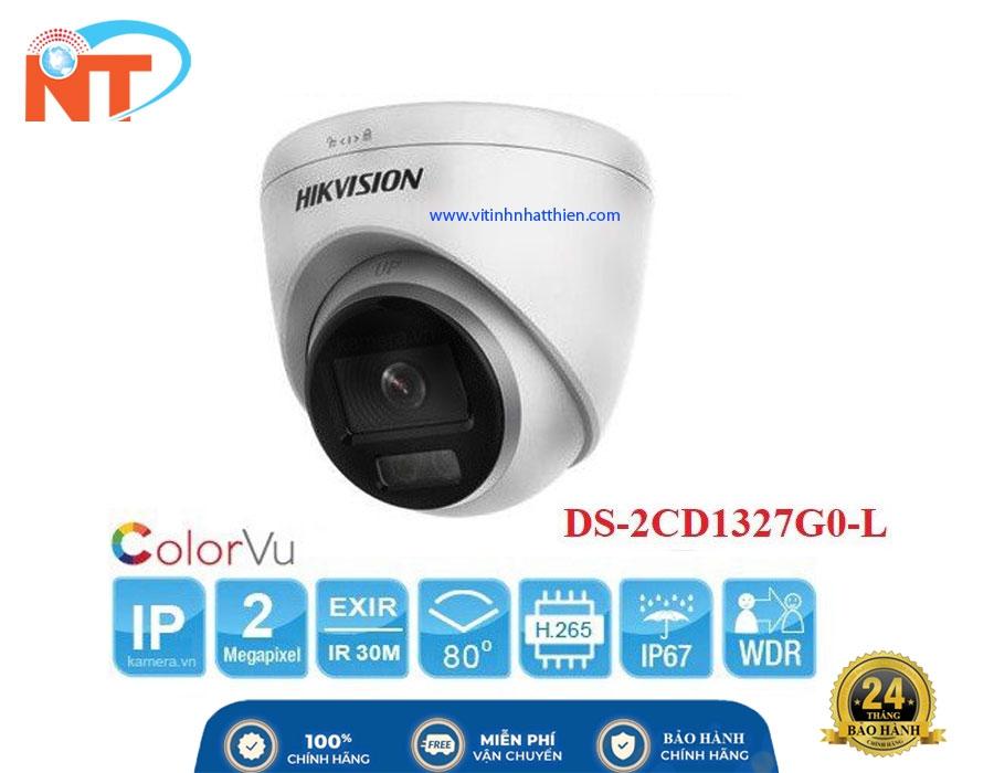 Camera IP Dome COLORVU HIKVISION DS-2CD1327G0-L  Lite 2.0 Megapixel