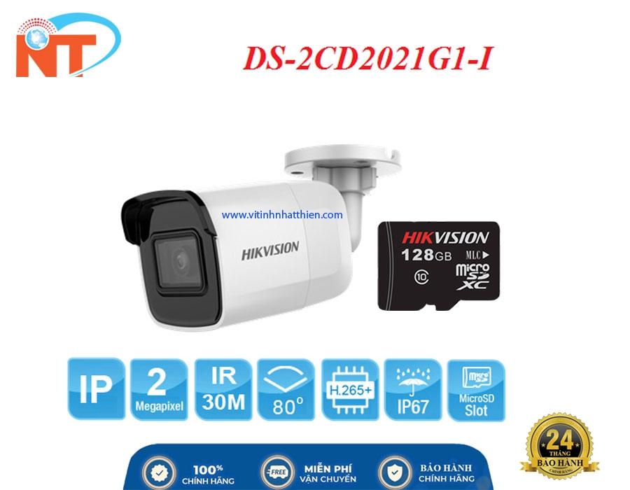 Camera IP hồng ngoại HIKVISION DS-2CD2021G1-I  2.0 Megapixel