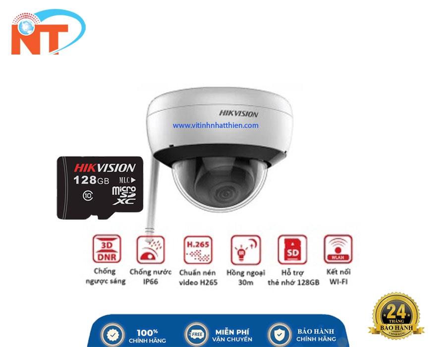 Camera IP Dome hồng ngoại HIKVISION DS-2CD2121G1-IDW1 2.0 Megapixel