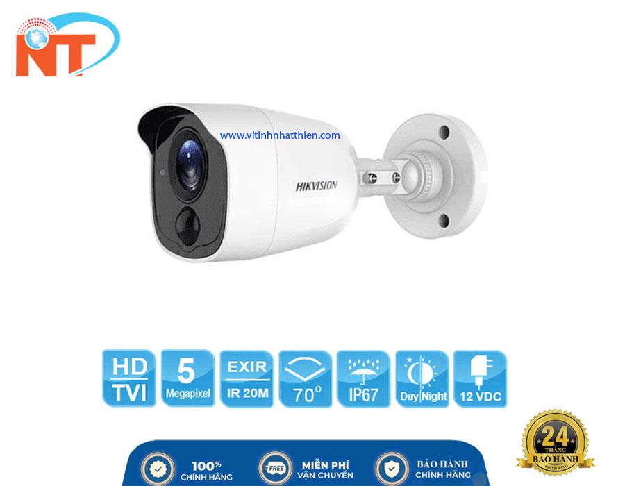Camera HD-TVI Analog HIKVISION DS-2CE11H0T-PIRL, 5.0 Megapixel