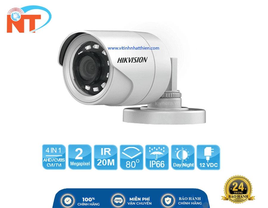 Camera HD-TVI Analog HIKVISION DS-2CE16B2-IPF  2.0 Megapixel