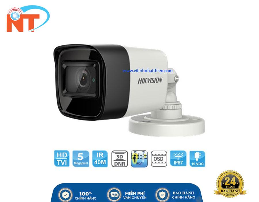 Camera HD-TVI Analog HIKVISION DS-2CE16H8T-IT3F, 5.0 Megapixel