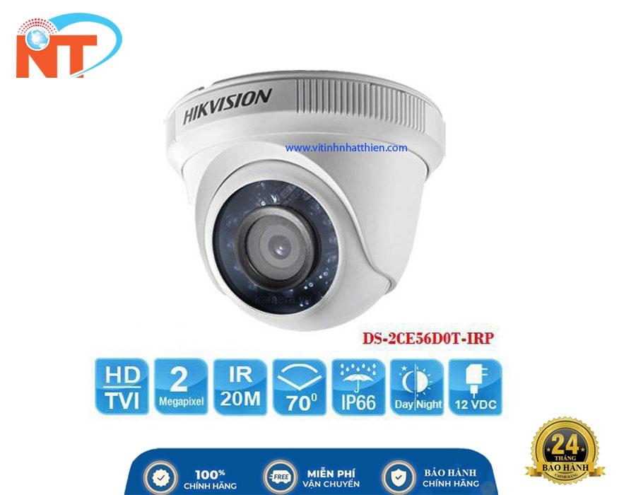 Camera HD-TVI Analog HIKVISION DS-2CE56D0T-IRP 2.0 Megapixel