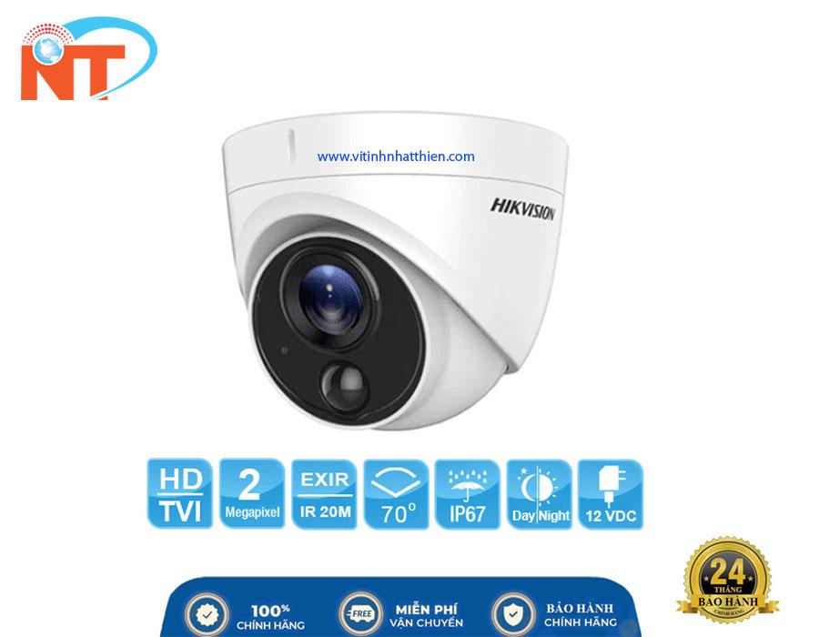 Camera Dome HD-TVI Analog HIKVISION DS-2CE71D0T-PIRL, 2.0 Megapixel