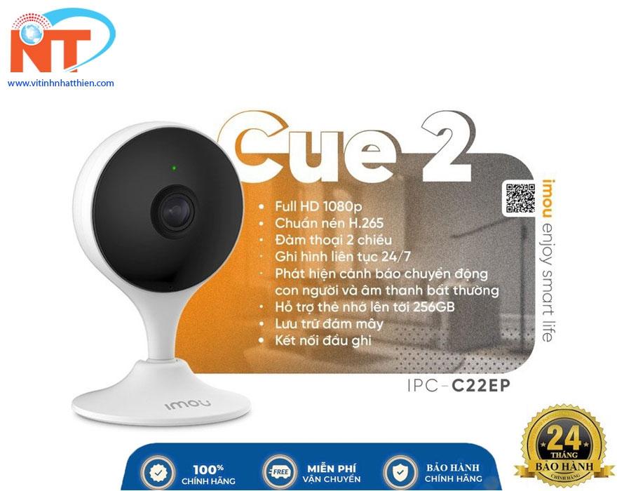 Camera ip Wifi trong nhà IMOU IPC-C22EP 2MP phát hiện con người đàm thoại 2 chiều