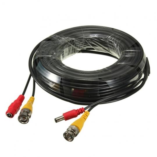 Cable Camera 40m có sẵng nguồn và đầu BNC