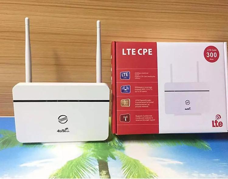Bộ Phát Wifi từ sim 3G-4G CPE RS860 - 2 anten - Kết Nối 32 User - Hỗ Trợ 1 Cổng LAN