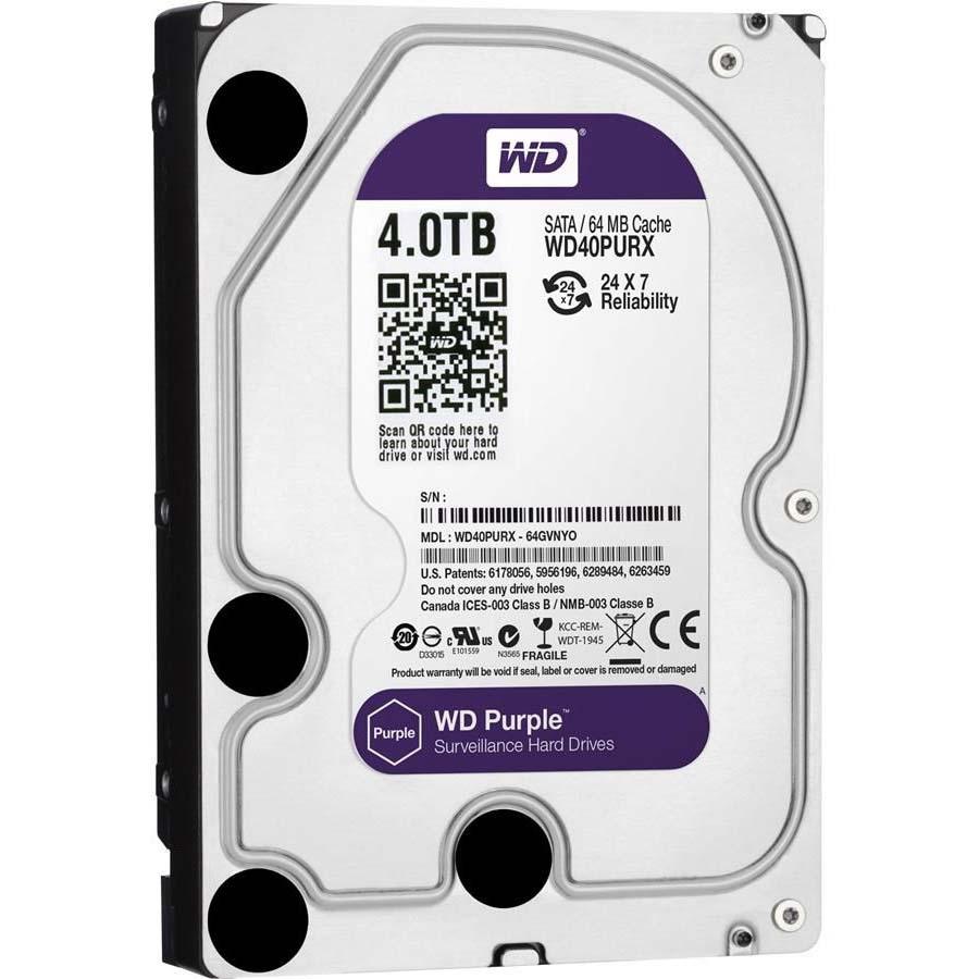 Ổ Cứng HDD WD Purple 4TB CHUYÊN DÙNG CHO CAMERA. PC,...