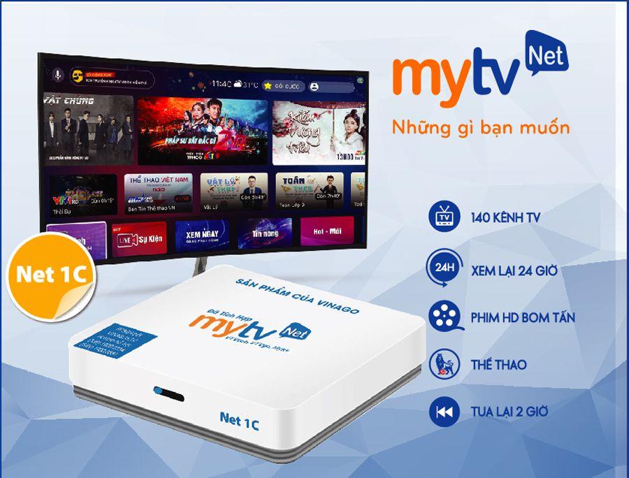Android MyTV Net 1C Ram 2G Rom 16G  Mẫu mới nhất ANDROID 9.0