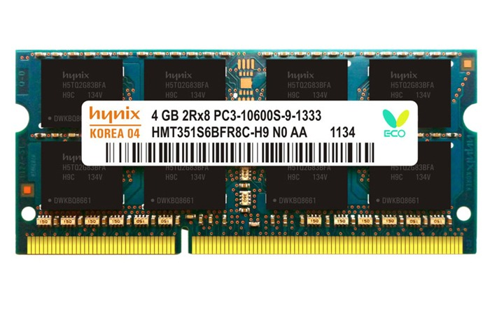 RAM LAPTOP DDR3:  4Gb
