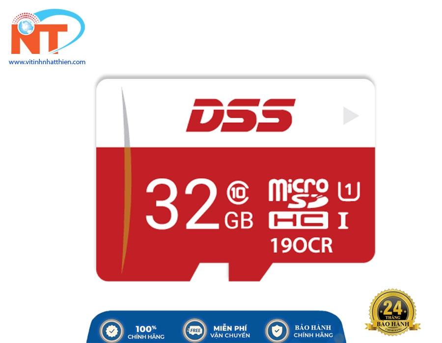 Thẻ Nhớ Micro SD Dahua DSS 32Gb Class 10, chuyên dùng camera IP, máy ảnh,...