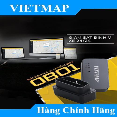 Thiết Bị Định Vị Ô Tô Lắp Cổng OBDII VIETMAP OB01