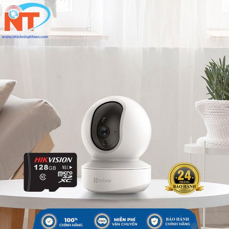 Camera ip wifi trong nhà EZVIZ TY2 Full HD 1080P xoay 360 độ, đàm thoại 2 chiều