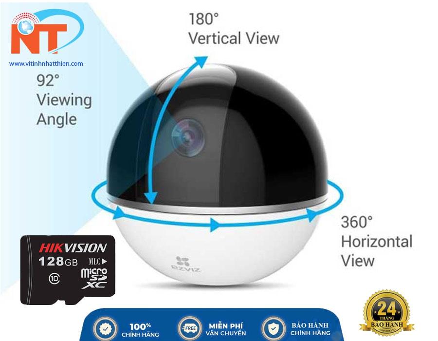 Camera IP Wifi EZVIZ CS-CV248 (C6CT) 2.0 Megapixel, xoay 360 độ, đàm thoại 2 chiều, phát hiện chuyển động