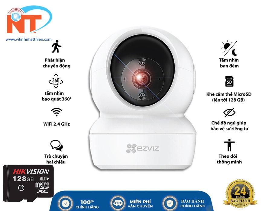 Camera ip wifi Ezviz C6N Full HD1080P xoay 360 độ , đàm thoại 2 chiều