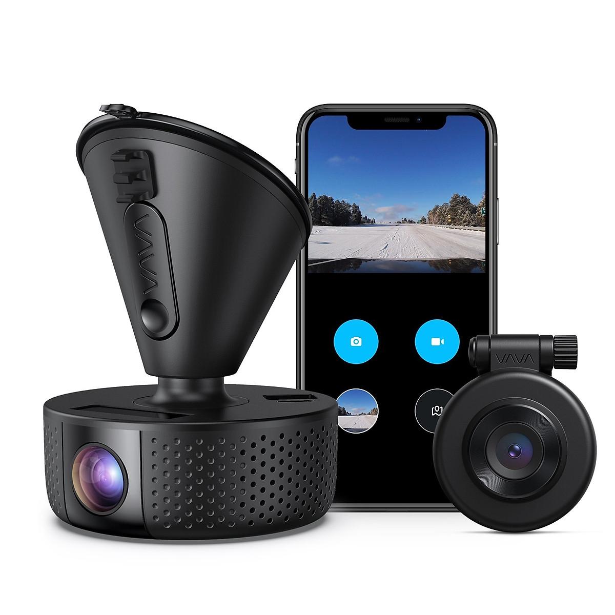Camera Hành Trình VAVA Dash Dual VD-002 - Ghi hình Trước và sau xe